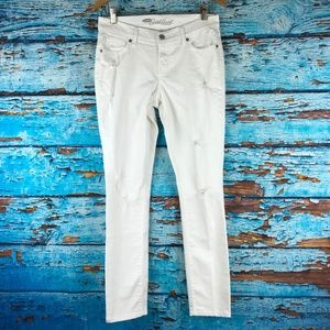 Old Navy Sweetheart 2 Distressed Jeans White